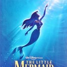 Little Mermaid Re-Release Advance Double Sided Original Movie Poster 27×40