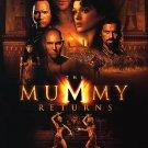 Mummy Returns (UV COATED CARDBOARD VERY SHINY) Single Sided Original Movie Poster 27×40