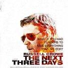 next 3 Days Regular Double Sided Original Movie Poster 27×40