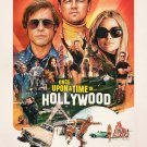 Once Upon A Time in Hollywood  Regular Original Movie Poster  Double Sided 27×40 inches