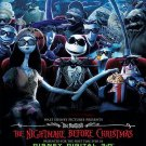 Nightmare Before Christmas Original Movie Poster Double Sided 27×40
