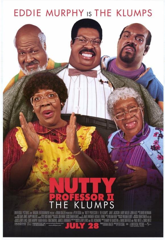 Nutty Professor 2 Single Sided Original Movie Poster 27�40