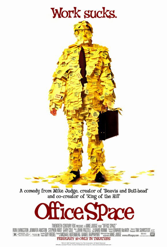 Office Space Single Sided Original Movie Poster 27�40
