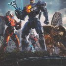 Pacific Rim Uprising Version C Double Sided Original movie Poster 27×40