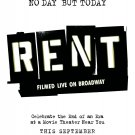 Rent Advance Double Sided Original movie Poster 27×40