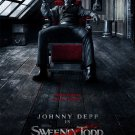 Sweeney Todd Regular Movie Poster Single Sided 27×40 inches