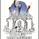 101 Dalmatians Disney Classic Original Movie Poster Double Sided 27×40 inches