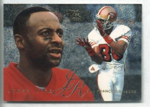 1995 Flair Jerry Rice #27 of 30 preview Fleer