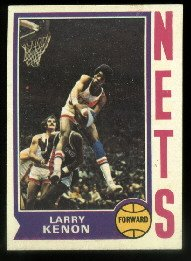 1974-75 Topps #216 Larry Kenon NY Nets ABA