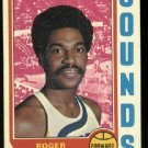 1974-75 Topps Roger Brown # 240 ABA Memphis Sounds