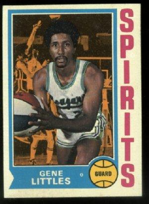 1974-75 Topps Gene Littles # 184 ABA Carolina Spirits