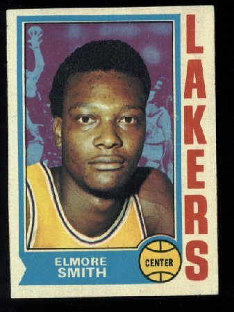 1974-75 Topps #49 Elmore Smith  NBA Los Angeles Lakers