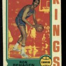 1974-75 Topps #11 Ron Behagen NBA Kansas City - Omaha Kings
