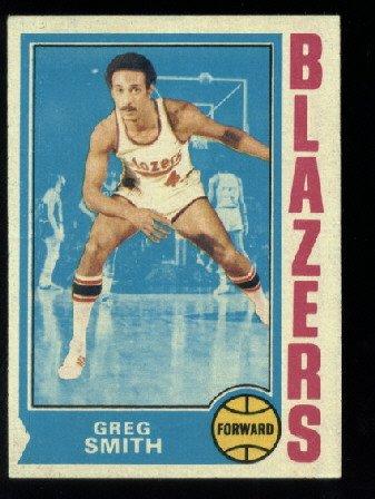 1974-75 Topps #128 Greg Smith