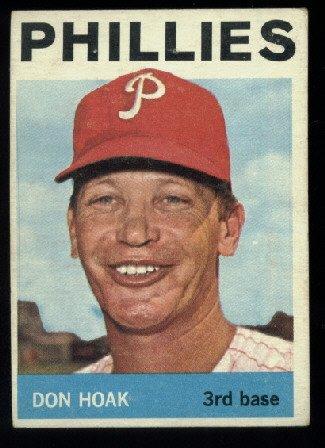 1964 Topps #254 Don Hoak Philadelphia Phillies
