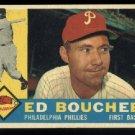 1960 Topps # 347 Ed Bouchee Philadelphia Phillies