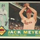 1960 Topps #64 Jack Meyer Philadelphia Phillies