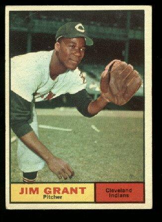 1961 Topps #18  Jim Grant  Cleveland Indians  baseball card