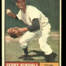 1961 Topps #27 Jerry Kindall Chicago Cubs  baseball card