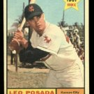 1961 Topps #39 Leo Posada  Kansas City Athletics RC rookie baseball card