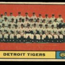 1961 Topps #51 Detroit Tigers team baseball card