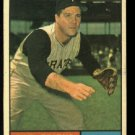 1961 Topps #270 Bob Friend  Pittsburgh Pirates baseball card