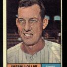 1961 Topps #285 Sherm Lollar Chicago White Sox baseball card