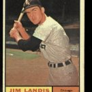 1961 Topps #271 Jim Landis  Chicago White Sox baseball card
