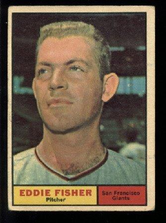 1961 Topps #366 Eddie Fisher San Francisco Giants baseball card