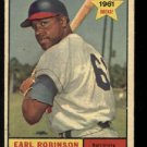 1961 Topps #343 Earl Robinson RC Baltimore Orioles rookie baseball card