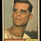 1961 Topps #239 Dave Sisler Washington Senators baseball card