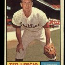 Nice 1961 Topps #234 Ted Lepcio Philadelphia Phillies Baseball card