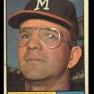 1961 Topps #217 Mel Roach Milwaukee Braves baseball card
