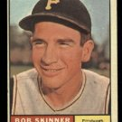 1961 Topps #204 Bob Skinner Pittsburgh Pirates baseball card