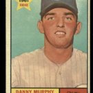 1961 Topps #214 Danny Murphy RC Chicago Cubs rookie baeball card