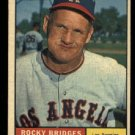 1961 Topps #514 Rocky Bridges Los Angeles Angels baseball card