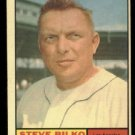 1961 Topps #184 Steve Bilko Los Angeles Angels baseball card