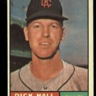 1961 Topps #197 Dick Hall Kansas City Athletics baseball card