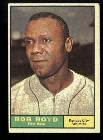 1961 Topps #199 Bob Boyd Kansas City Athletics baseball card