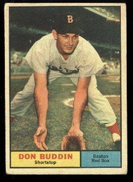 1961 Topps #99 Don Buddin Boston Red Sox baseball card