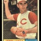 1961 Topps #97 Jerry Lynch Cincinnati Reds baseball card