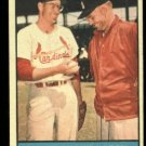 1961 Topps #75 Lindy Shows Larry  Lindy McDaniel and Larry Jackson baseball card