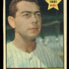 1961 Topps #156 Kent Hunt RC Los Angeles Angels rookie baseball card