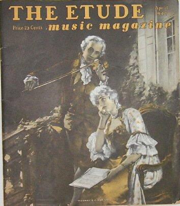 THE ETUDE music magazine   April 1947
