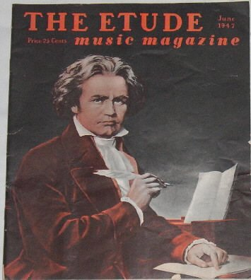 THE ETUDE music magazine   June 1947