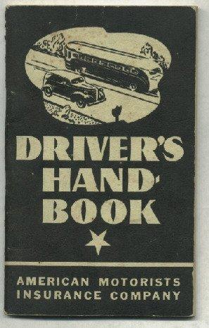1943 Drivers Handbook     American Motorists Insurance Company