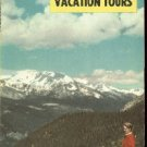 1956 Union Pacific Railroad Vacation package   Cool Colorado FREE S/H