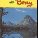 1956 Glacier Park and Canadian Rockies vacation travel brochure  FREE S/H.