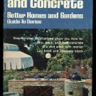 Masonry and Concrete guide from Better Homes and Gardens