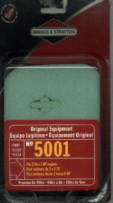 Original Briggs & Stratton premium foam air filter 5001 B&G 27987S